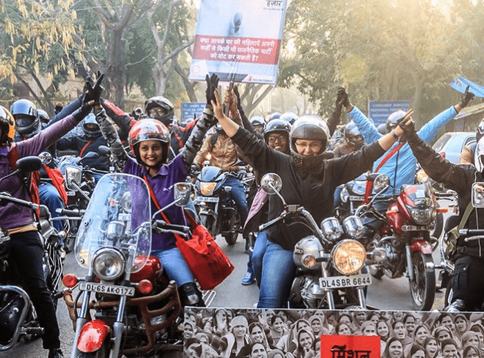A Bike Rally To Fight Against Gender-biased Sex Ratio